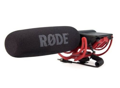 New Rode VIDEOMIC Camera Mounted Shotgun Pro Microphone For Canon Nikon MIC