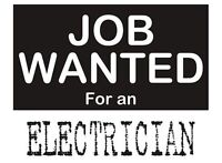 Looking for an experienced and qualified electrician