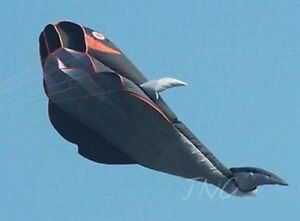 2-1M-3D-Huge-Parafoil-Whale-Kite-Fun-to-Fly-Holiday-Outdoor-Beach-Park-Fun