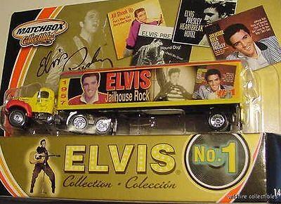 Elvis Presley Jail House Rock Matchbox Mack 50's Truck 1956 Mattel 1998 1:64