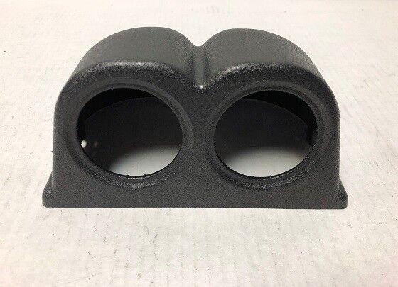 OBX Racing Sports Black Universal Pillar Mount Double Gauge Pod