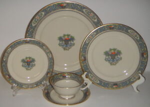 Lenox Autumn bone china - four 6 piece place settings - gorgeous