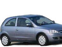 Vauxhall Corsa c breaking parts