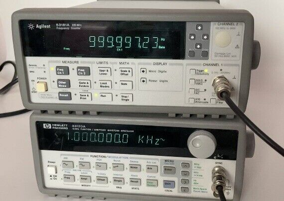 Agilent 53181A 225 MHz Universal Counter Tested