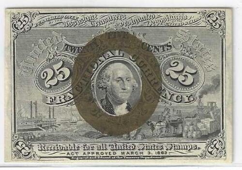 Second Issue 25c George Washington ...... Crisp Uncirculated