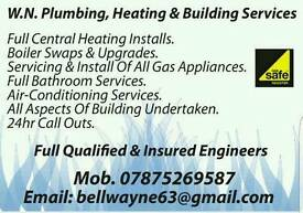WN plumbing, Heating & Building Services