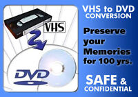 CONVERT VHS TO HD DVD 1080P ALL 3 SIZE TAPE WITH NEW TECHNOLO