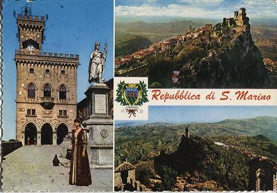 Alte Postkarte - Repubblica di S. Marino
