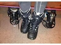 Burton Snowboard Boots like new size 5 UK