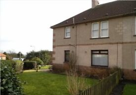 UNFURNISHED 2 BEDROOM GROUNDFLOOR FLAT WITH PRIVATE ENCLOSED GARDENS AND OFF-STREET PARKING.
