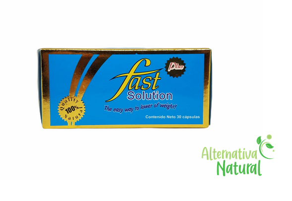 FAST SOLUTION PLUS! Weight Loss - Para Perdida de Peso