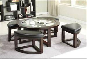 BRAND NEW STYLISH COFFEE TABLE STARTING AT 45