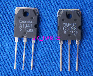 1pair-2pcs-Original-2SA1941-2SC5198-TOSHIBA-Transistor-A1941-C5198