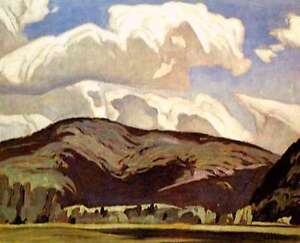 """A.J. Casson """"Eagles Nest"""" Lithograph - Appraised at $600"""