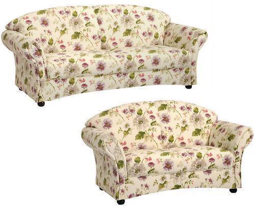sofagarnitur landhaus ebay. Black Bedroom Furniture Sets. Home Design Ideas