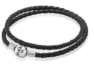 512fa7dc5 Pandora Double Leather Bracelets