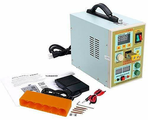 YaeCCC Sunkko 788H AC 110V 60Hz Spot Welder Pulse Welding for 18650 Battery