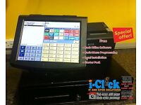 Qtouch 2 Epos System & Back Office 4 Retail Fast Food Cafe Restaurant Bar Pos Quarion