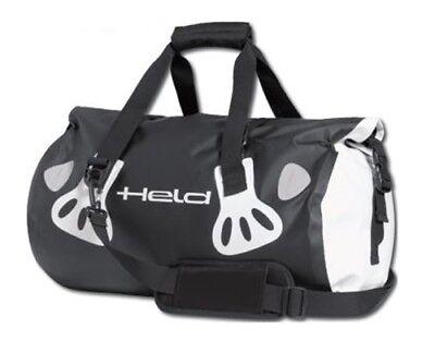 Carry-Bag Held Motorcycle Luggage Roll 2028.8oz Black White Waterproof Bike New