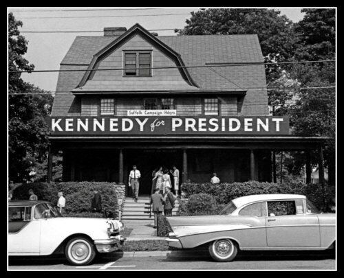 John Kennedy Campaign Photo 8X10 - 1960 Suffolk County New York President #2