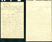 Antique Handwritten Letters