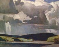 "A.J. Casson ""Summer Storm"" Lithograph - Appraised at $550"