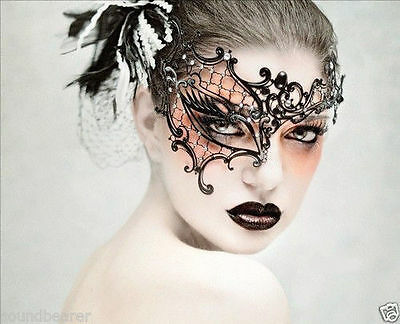 NEW Sexy Laser Cut Phantom of the Opera Masquerade Masks for Women Half Eye Mask