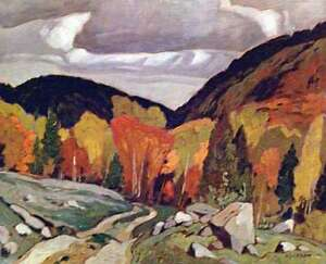 """A.J. Casson """"Road at Yantha Lake"""" Lithograph - Appraised at $650 London Ontario image 1"""