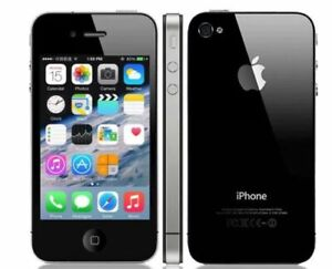 New Sealed Box APPLE IPHONE 4S (WORLDWIDE UNLOCKED) BLACK