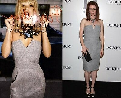Yves Saint Laurent Spring '08 Strapless Dress Seen On Rihanna..Kate Moss...