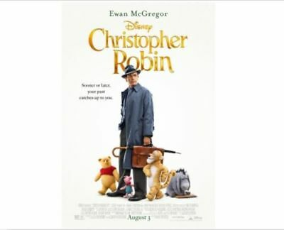 """CHRISTOPHER ROBIN""  (DVD,2018) NEW*  FACTORY SEALED FREE SHIPPING"