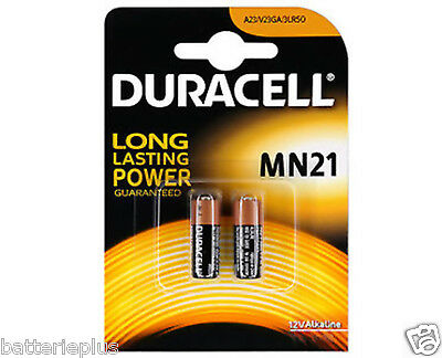2x MN21 12V Batterie Duracell 23AE A23 VA23GA LRV08 23A L1028