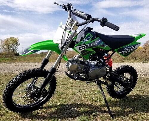 Coolster Dirt Bike 125cc Semi Auto Mid Size Dirt Bike - QG-214S
