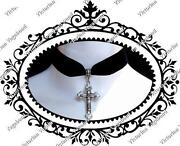 Gothic Cross Choker