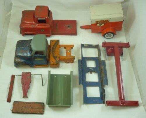 Tonka Crane Bucket also Pressed Steel Restoration in addition Parts For Toy Trucks also Pressed Steel Restoration likewise 50TH ANIVERSARY CORVETTE WALL CLOCK WCAR SOUNDS name 5518877 auction id auction details. on tonka crane replacement parts