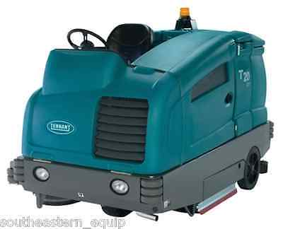 Reconditioned Tennant T20 Diesel Rider Floor Scrubber