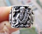 Tibet Silver Antique Chinese Rings