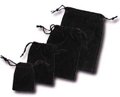 Black Velvet Drawstring Pouches Black Jewelry Bags Pouches Velvet Bags 1284144