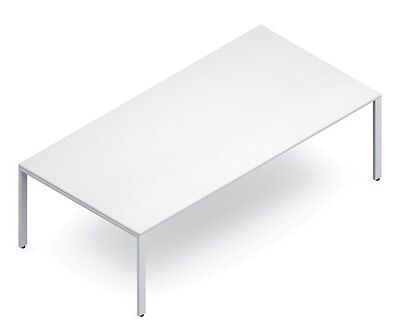 Global Pn964829 8 Ft White Conference Table
