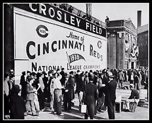 Crosley Field #4 Photo 8X10 - 1940 Cincinnati Reds