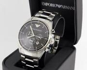 Mens Silver Stainless Steel Watch