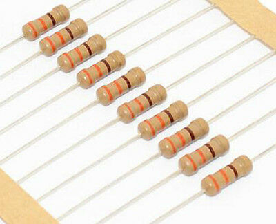 High Value Carbon Film Resistors 14w1m-22m -5 - Lot Of 3 10 Or 25