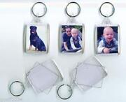 Large Blank Keyrings