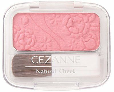 (CEZANNE Natural Cheek N 13 Rose Pink Color Pearl Type Make Up Cheek Blush Japan)