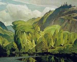 """A.J. Casson """"On the York River"""" Lithograph - Appraised at $1400"""