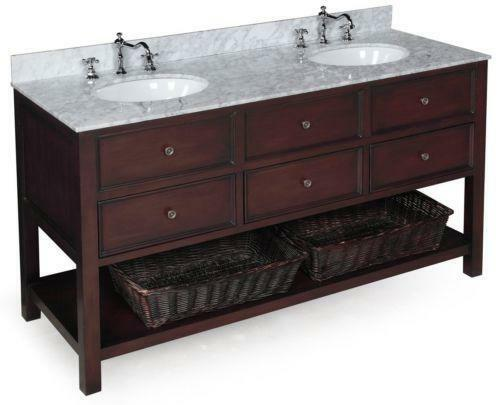 60 Double Bathroom Vanity Ebay