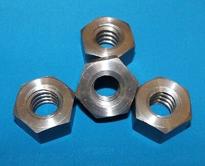 304060-nut-lh 34-6 Acme Hex Nut Lh Steel 4 Pack For Acme Left Hand Thread Rod
