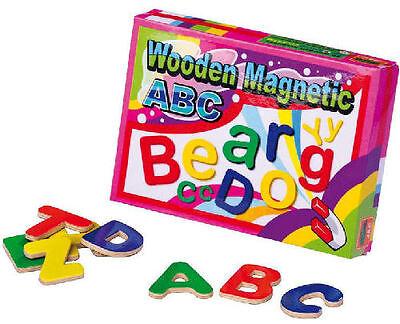 52 Magnet-Buchstaben Lernspiel Schule Vorschule Schulanfang ABC Kita Magnettafel