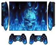 Blue PS3 Console