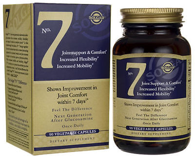 Solgar No. 7 90 Veg. Capsules Joint Support FREE SHIPPING